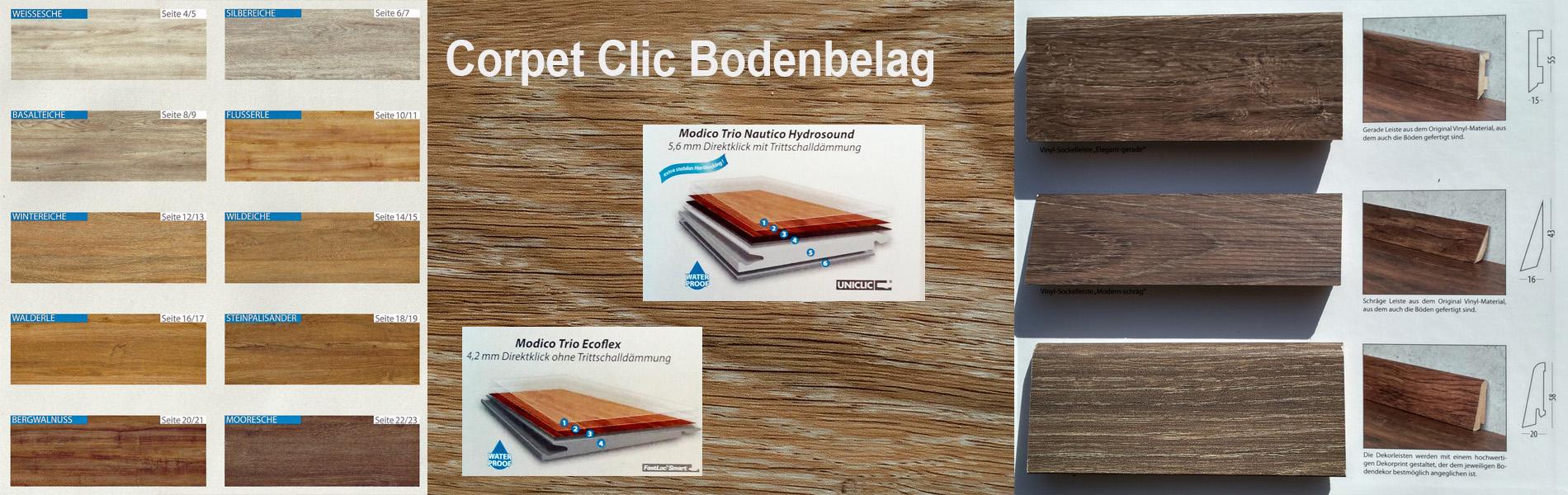 Corpet Clic Bodenbeläge